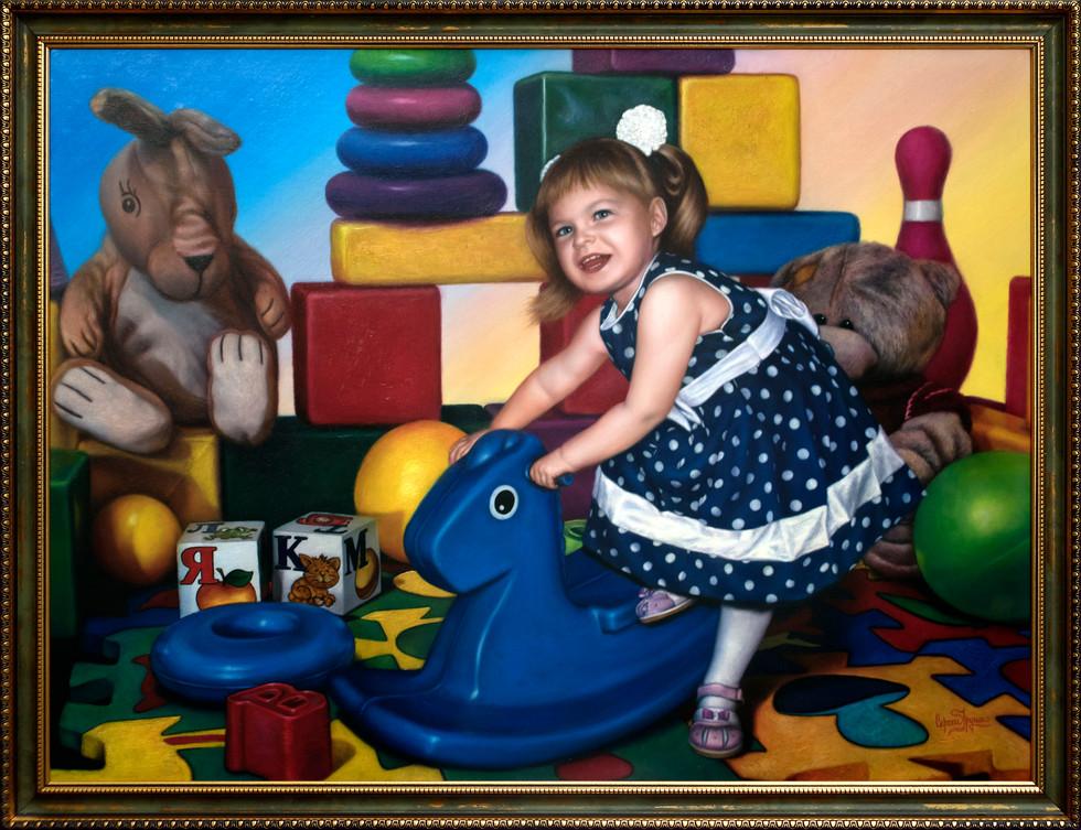 Катя в мире игрушек.