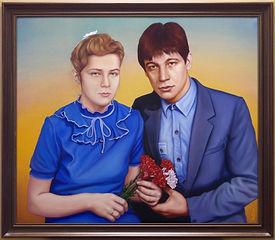 70 - Супруги Набиуллины - готовая картин