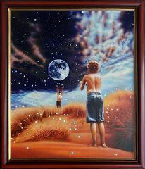 31. Гравитация. 2006 г. Холст, масло. 60
