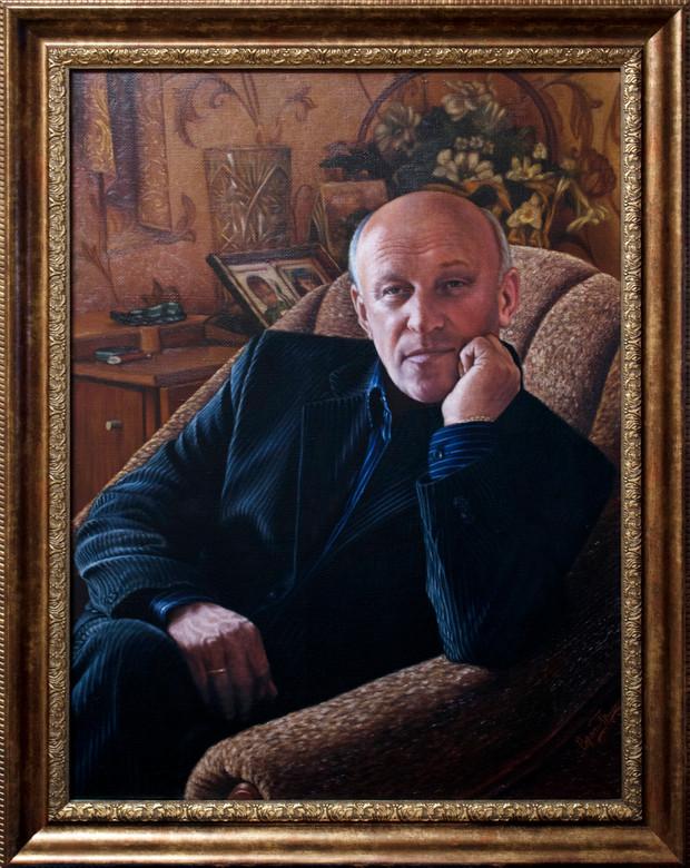 Николай Александрович Грушко. Портрет отца.
