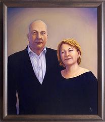 71 - Супруги Горбуновы - готовая картина
