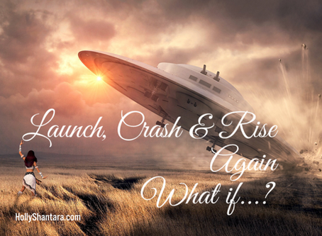 Launch, Crash & Rise Again - How to recover when life throws a curveball