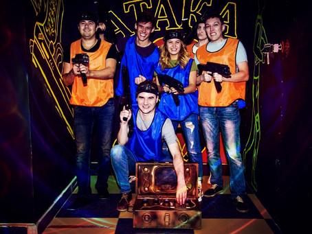 Лазертаг-игра в Новокузнецке