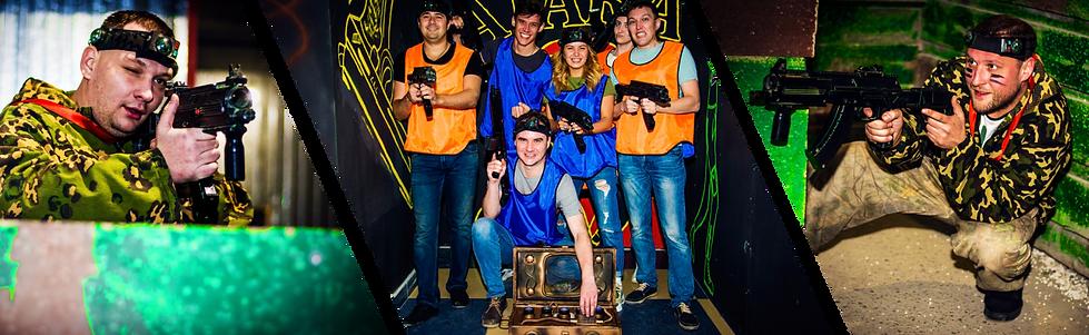 Корпоратив в лазертаг клубе Атака Новокузнецк
