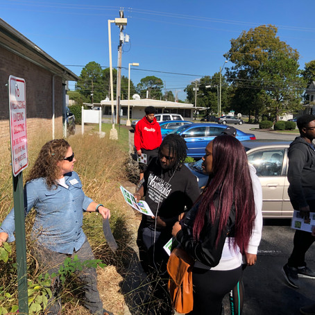 YouthBuild Learns about Water Quality and Rain Gardens