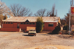 The Hound and Hare renovation stage, 1989