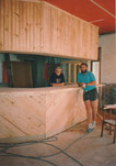 The Hound and Hare Bar is built, 1990.