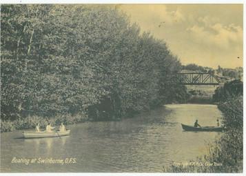 Boating on The Wilge, Swinburne