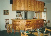 The Hound and Hare Bar at Opening, 1990