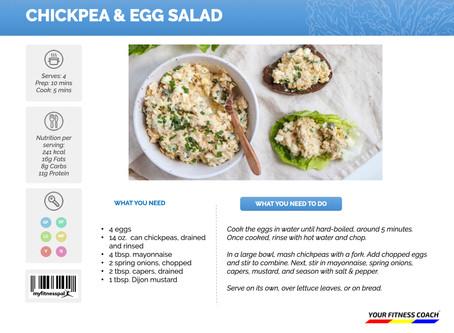 Chickpea & Egg Salad