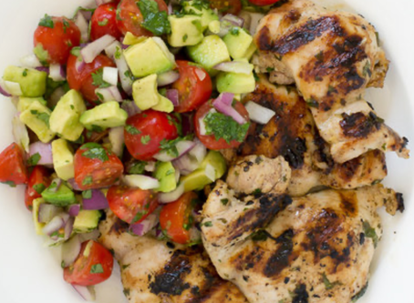 Cilantro-Lime Chicken Thighs