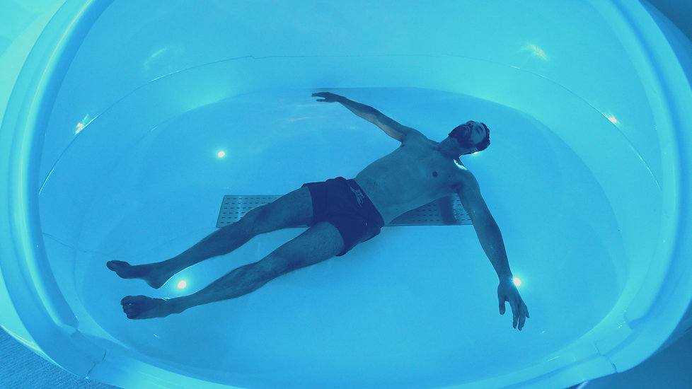 Floating Inside a Orbit Float Tank