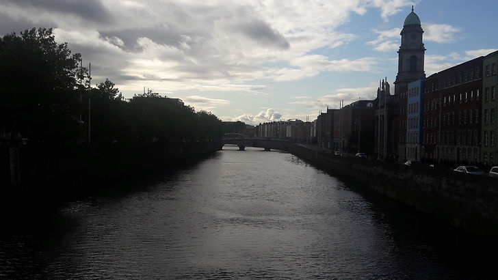 River Liffey, Dublin, Ireland 2017