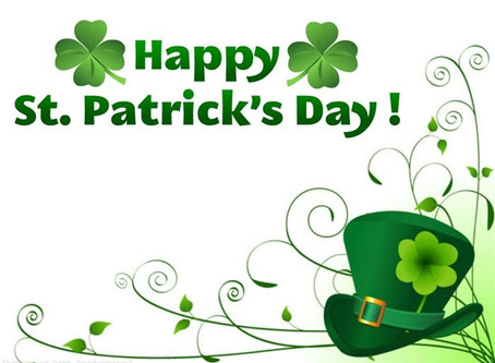 Have a Happy St. Patrick's Day!