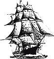 UHF Ship logo