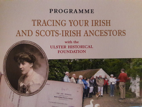 Interested in attending a different type of Family History Conference this autumn? There's still
