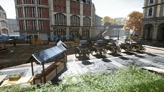 Car Race Level - Marketplace Side View
