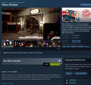 Retro Rockets on Steam