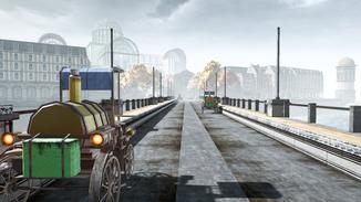 Car Race Level - Mid Bridge