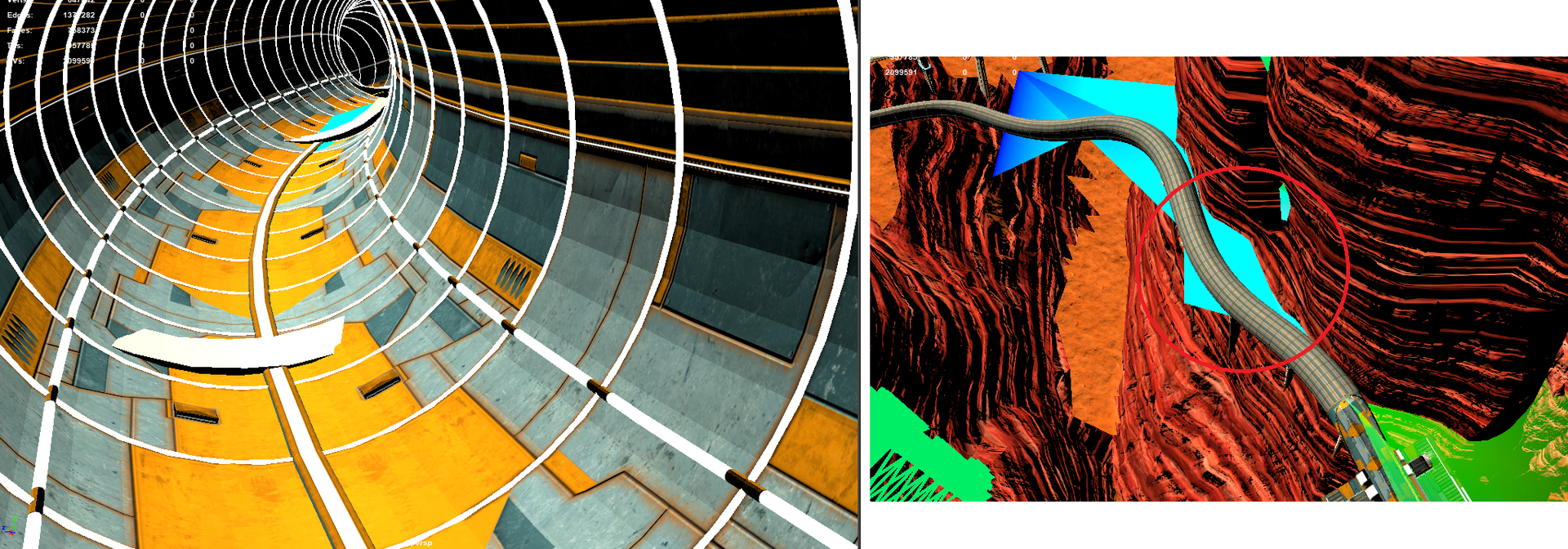 AGR - Making the Tunnels (Maya)