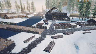[C6] Lumber Mill POI