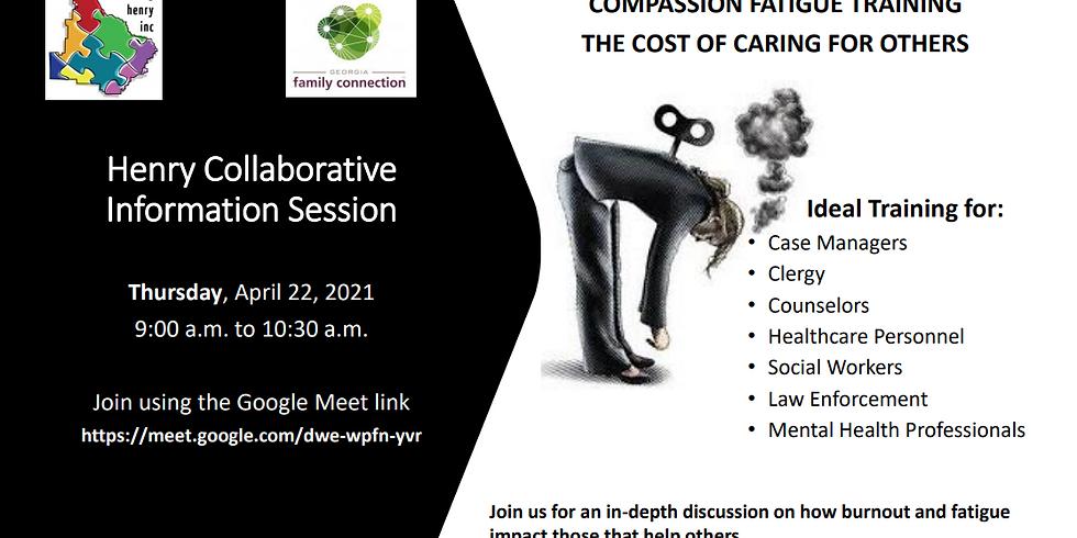 Collaborative Information Session April 22