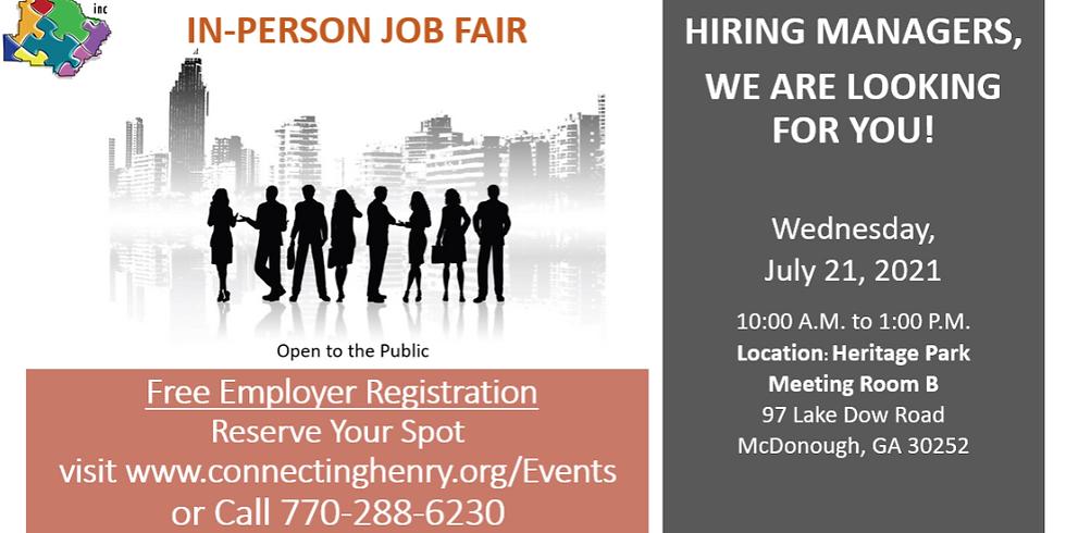 In-Person Job Fair