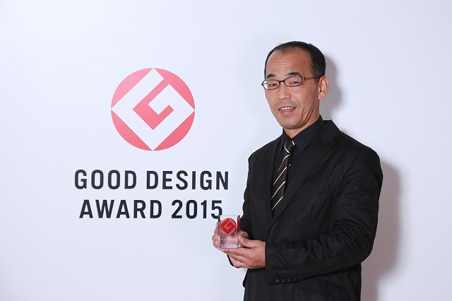 2015年度グッドデザイン賞受賞式に参加してきました。