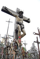 Haunted spooky places around the world, Hill Of Crosses...