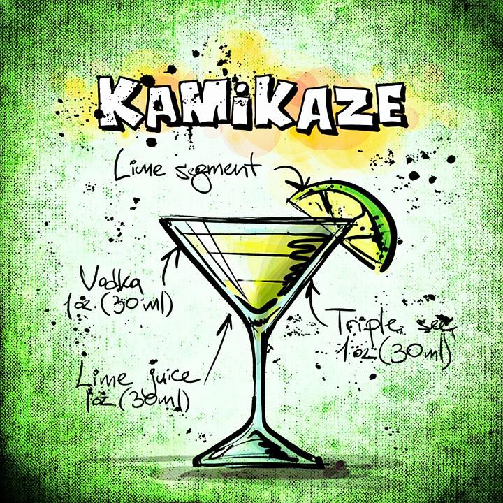 Kamikaze cocktail recipe