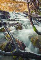 Off the beaten path places to enjoy fall foliage, Plitvice, Croatia.
