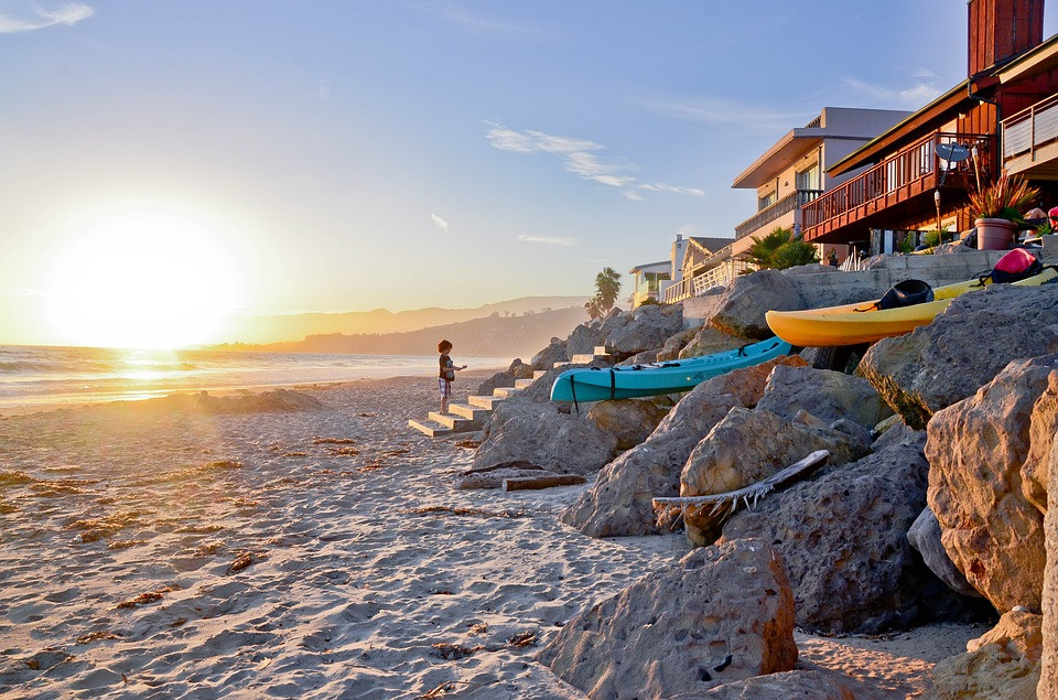 L.A Beach, one of the city's best attractions