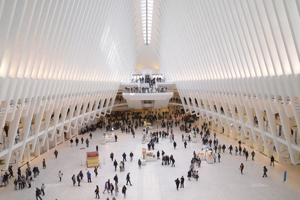 World Trade Center on the inside