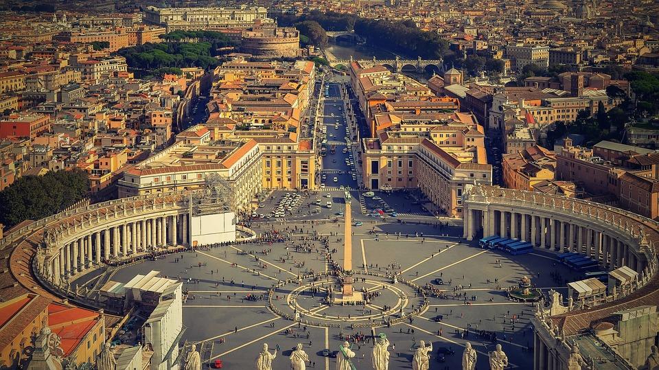 Rome St Peter's Square, Vatican