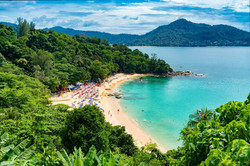 Arial beach Phuket