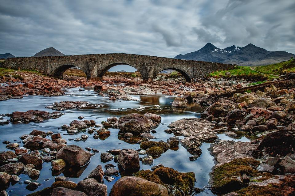 Old Scottish bridge