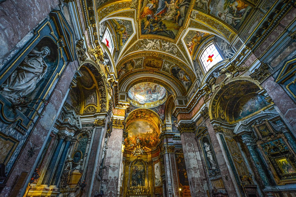 Rome cathedral absolutely stunning motifs