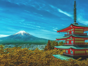 The vestiges of a millennial empire, Japan's most beautiful places to visit.
