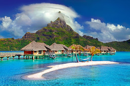 "Tahiti, ""the island of love"""