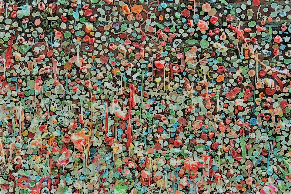 Wall of Gum