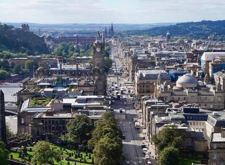 Famous Scottish castles, Edinburgh