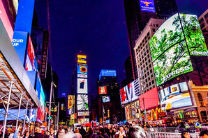 Most visited cities in north America: New York, USA.