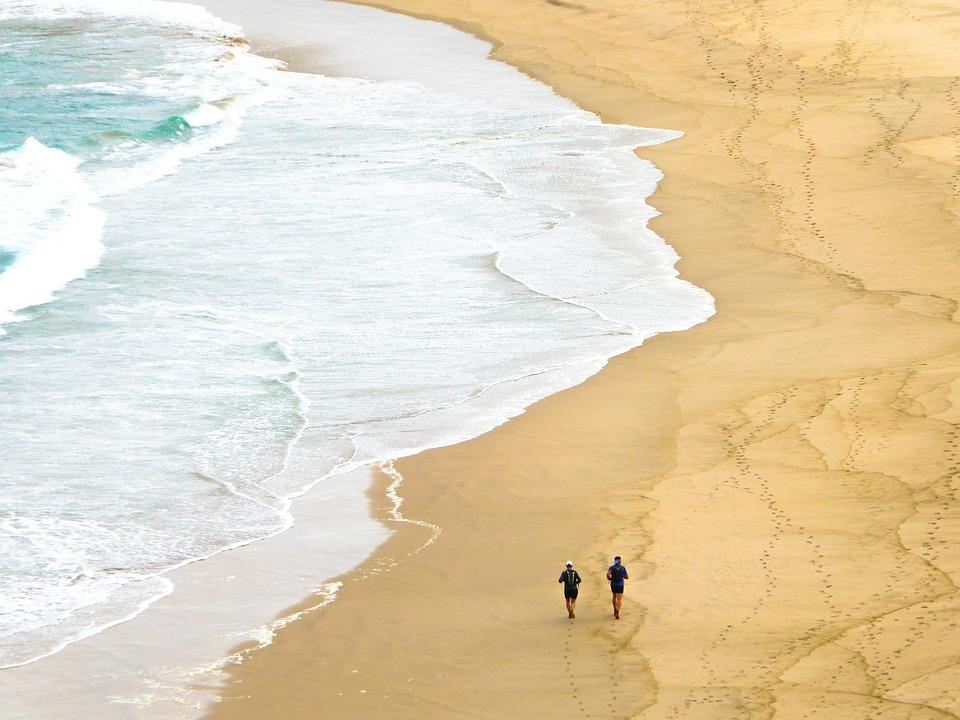 African beach, South Africa