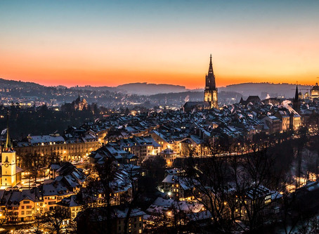Less popular destinations that are absolutely delightful: Bern Switzerland.
