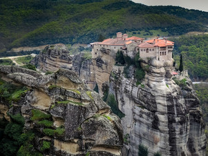 The most amazing religious places around the world: Meteora Greece