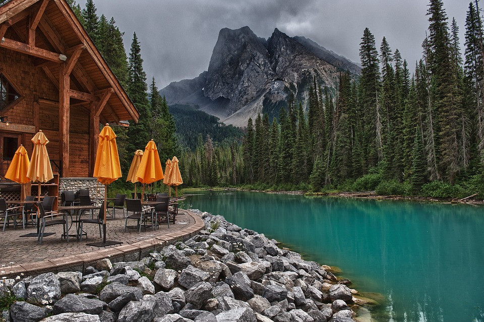 Banff Cabin cafe