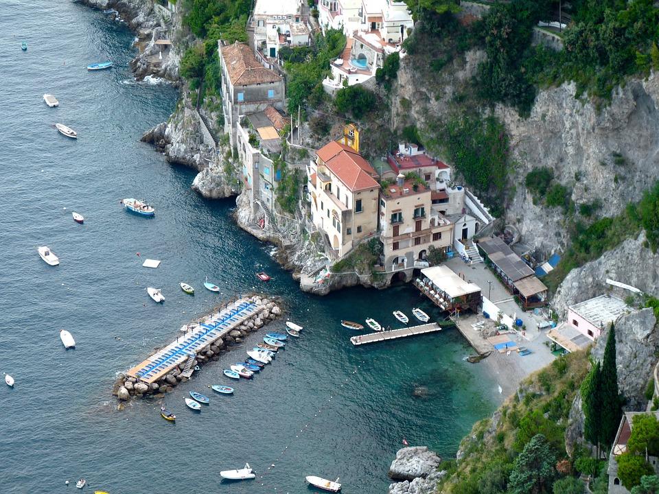 Amalfi fishing village