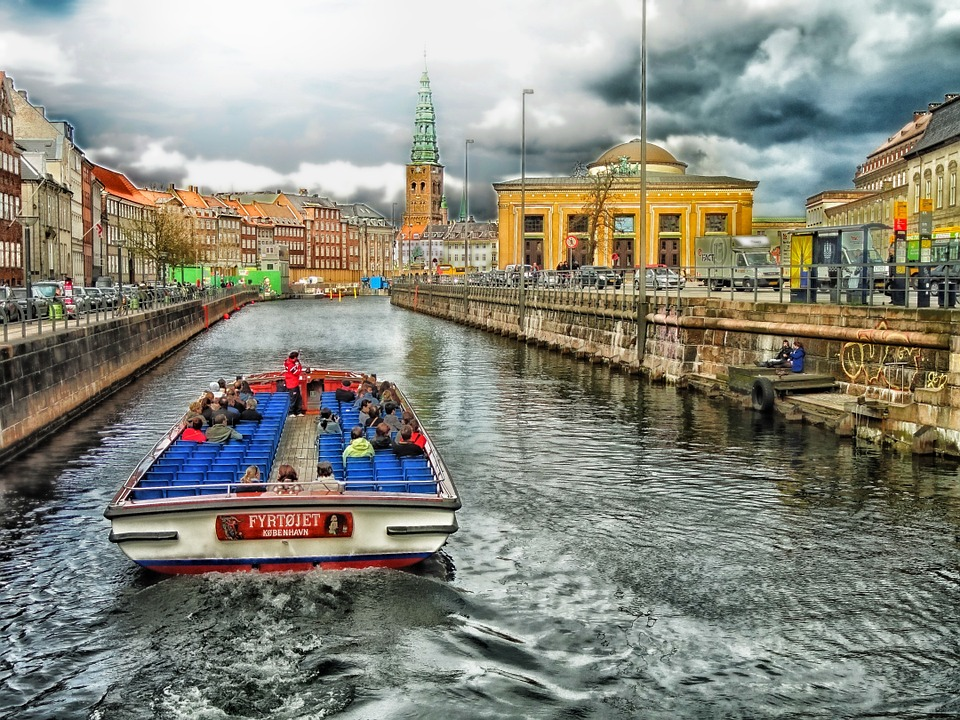 copenhagen by boat