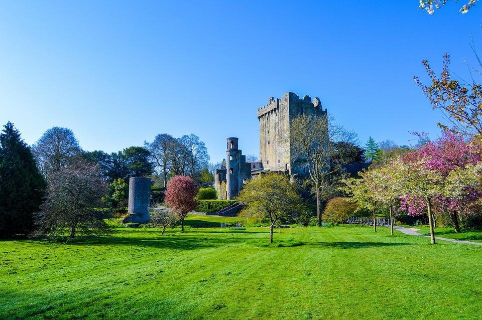 Blarney castle, where Blarney Stone is located