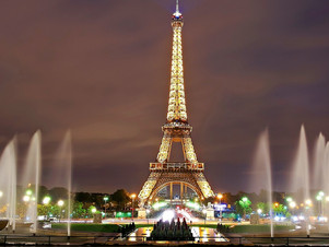 The most visited European cities: Paris.